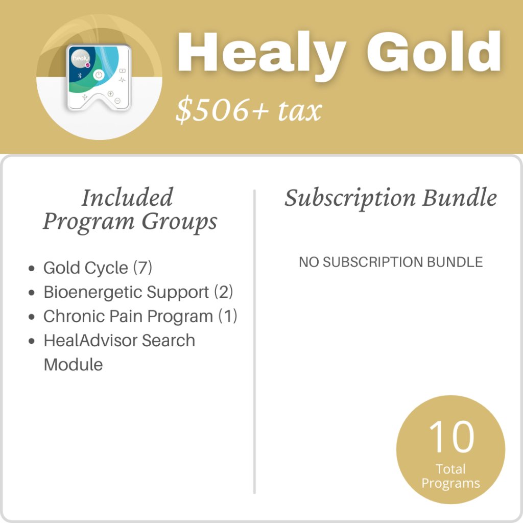 Healy Gold Pricing
